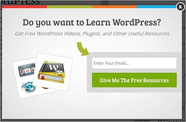 pop up email marketing